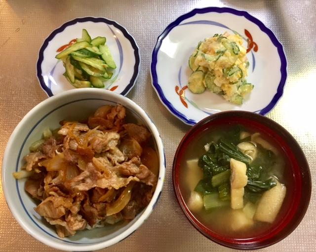 玉ねぎ・きゅうり・ジャガイモ No.2 [3食材でくりまわし3日間!]