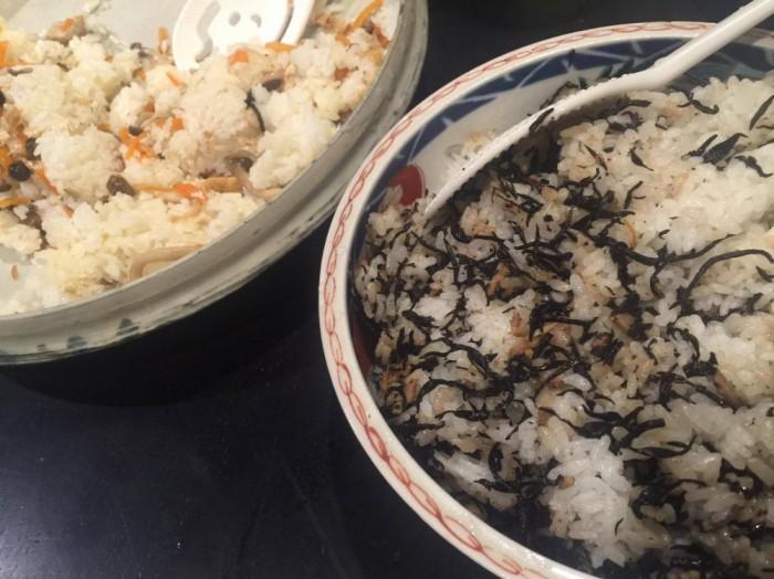 作り置きですぐにできる、混ぜご飯2種
