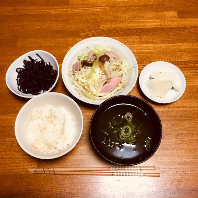 くりまわしレシピ[3]3日目