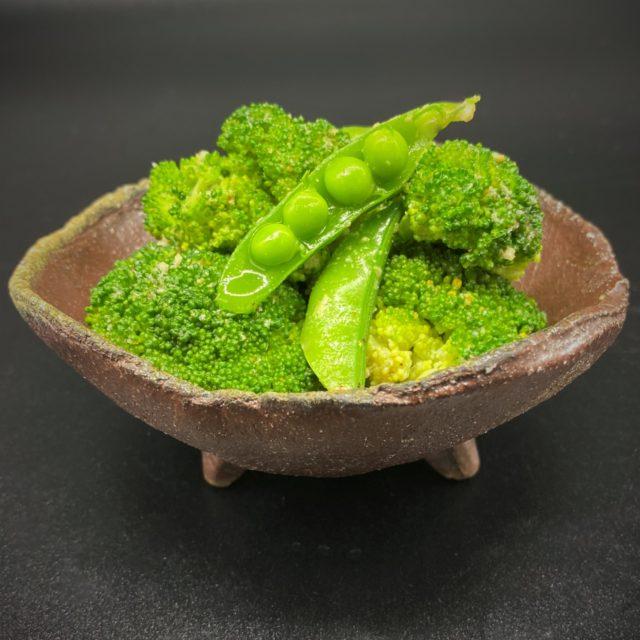 ブロッコリーとエンドウ豆のナムル