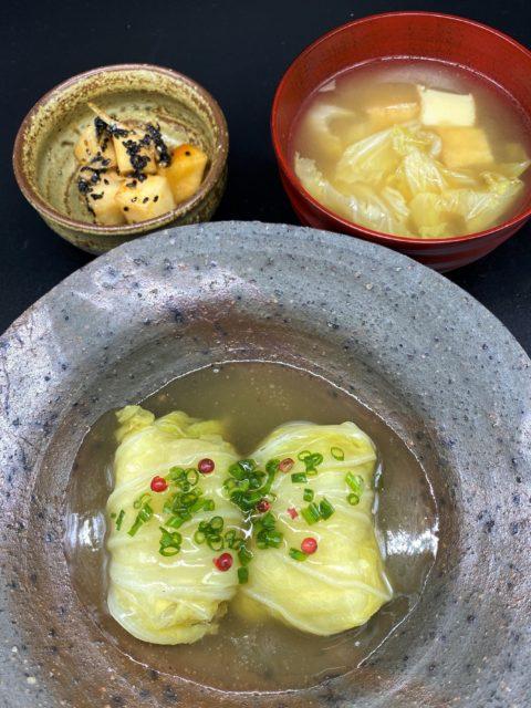 くりまわしレシピ[5]3日目 -白菜・しいたけ・大根-