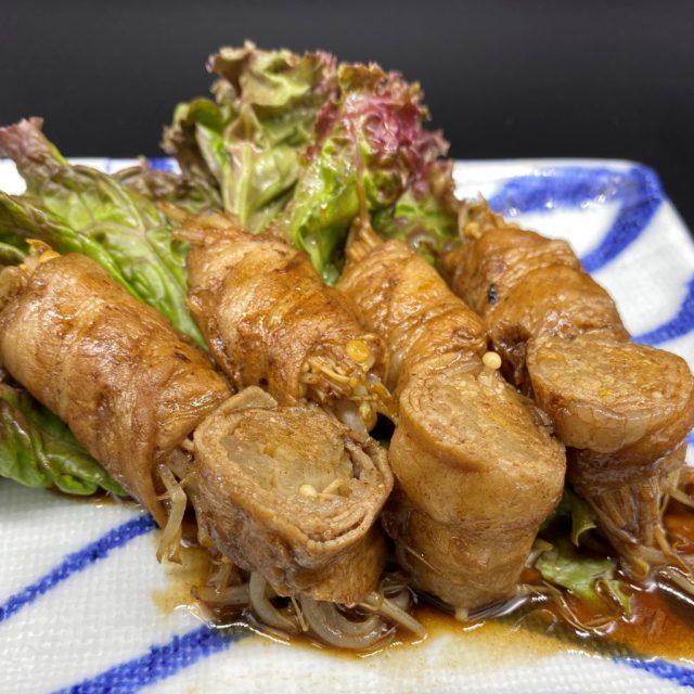 えのきもやしの豚肉巻き バルサミコ風味