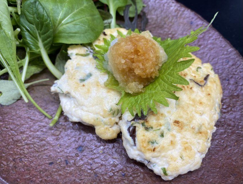 ひじきと豆腐バーグ