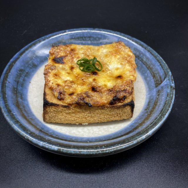 厚揚げの納豆チーズ焼き